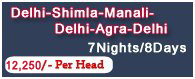 shimla manali delhi package, travel agents in shimla